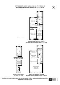 Large floorplan for Emperors Gate, South Kensington, SW7