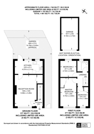 Large floorplan for Anerley Hill, Crystal Palace, SE19