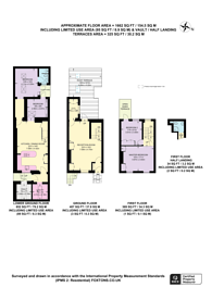 Large floorplan for Ossington Street, Notting Hill, W2