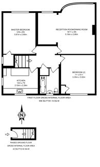 Large floorplan for Grafton Close, West Ealing, W13