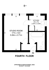 Large floorplan for York Way Estate, Islington, N7