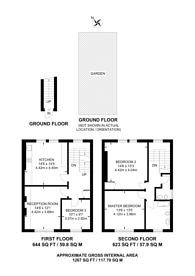 Large floorplan for Hayter Road, Brixton, SW2
