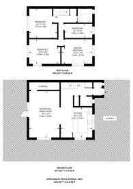 Large floorplan for Heather Close, Beckton, E6