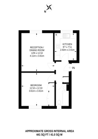 Large floorplan for Grafton Square, Clapham Old Town, SW4