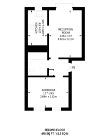 Large floorplan for Ferguson Close, Isle Of Dogs, E14