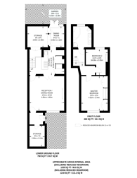 Large floorplan for Barnsbury Road, Barnsbury, N1