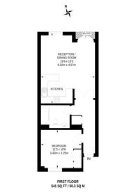Large floorplan for Mortlake High Street, Mortlake, SW14