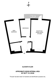 Large floorplan for Jessop Building, E14, Tower Hamlets, E14