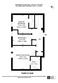 Large floorplan for High Street, Hounslow, TW3