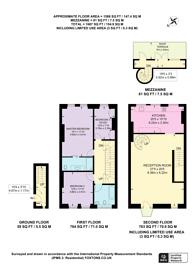 Large floorplan for Chalcot Gardens, Belsize Park, NW3
