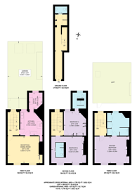 Large floorplan for Carlisle Street, Soho, W1D