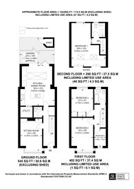 Large floorplan for Derwent Road, Northfields, W5