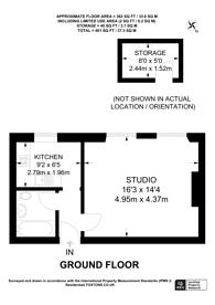 Large floorplan for Dagnall Park, Selhurst, SE25
