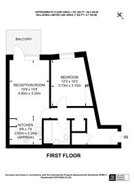 Large floorplan for Connersville Way, Croydon, CR0
