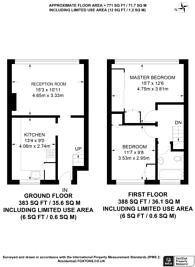 Large floorplan for School Lane, Surbiton, KT6
