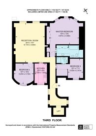 Large floorplan for Hans Place, Knightsbridge, SW1X