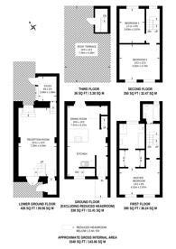 Large floorplan for St Peters Street, Angel, N1