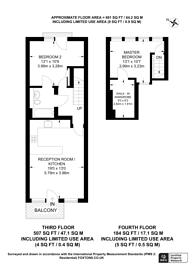 Large floorplan for Clephane Road, Islington, N1
