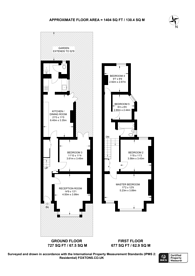 Large floorplan for Larch Road, Cricklewood, NW2