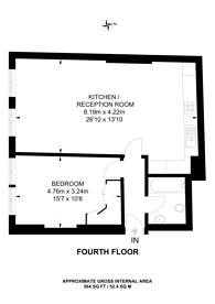 Large floorplan for Curtain Road, Shoreditch, EC2A