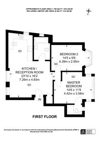 Large floorplan for Park Road, Kingston, KT2