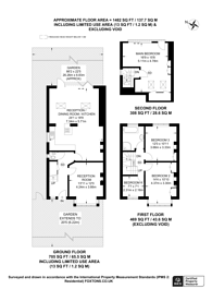 Large floorplan for Poplar Road, Merton, SW19