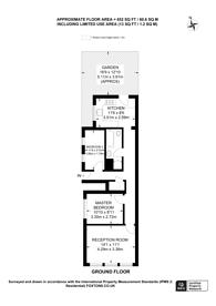 Large floorplan for Blakenham Road, SW17, Tooting, SW17