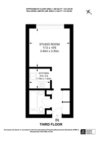 Large floorplan for Friary House, Guildford, GU1