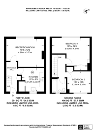 Large floorplan for Bells Hill, Barnet, EN5