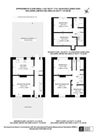Large floorplan for Hearnshaw Street, Isle Of Dogs, E14