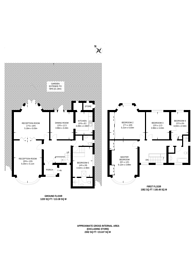 Large floorplan for Bryan Avenue, Willesden Green, NW10
