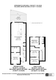 Large floorplan for St Gerards Close, Clapham, SW4