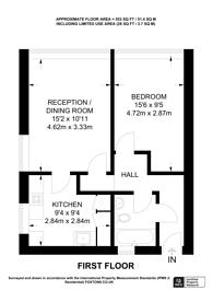 Large floorplan for Hornsey Road, Islington, N7