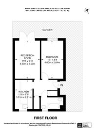 Large floorplan for Burrow Walk, Herne Hill, SE21