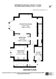 Large floorplan for Elsworthy Road, Camden, NW3