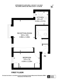 Large floorplan for Woodvale Way, Cricklewood, NW11