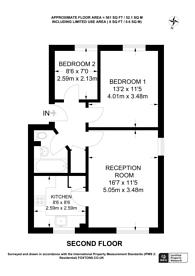 Large floorplan for Hazelwood Court, Neasden, NW10