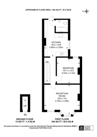 Large floorplan for Mafeking Avenue, Brentford, TW8