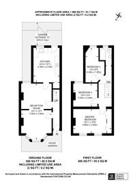Large floorplan for Fairholme Road, Croydon, CR0