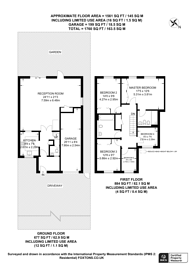 Large floorplan for Brownlow Road, Lloyd Park, CR0