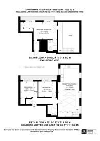 Large floorplan for Seymour Street, Portman Estate, W1H