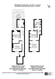 Large floorplan for Winchester Street, Pimlico, SW1V