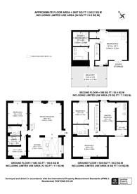 Large floorplan for Takhar Mews, Clapham Junction, SW11