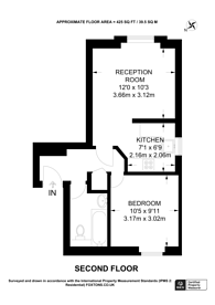 Large floorplan for Stonecot Hill, Sutton, SM3