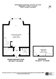 Large floorplan for Redcliffe Square, South Kensington, SW10