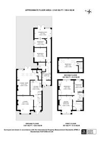 Large floorplan for High Road, Harrow Weald, HA3