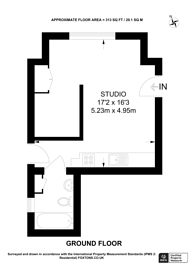 Large floorplan for Dartmouth Road, Mapesbury Estate, NW2