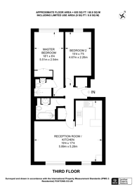 Large floorplan for Maltings Place, Fulham, SW6