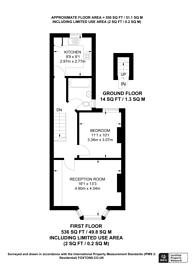 Large floorplan for Whitehall Road, Croydon, CR7