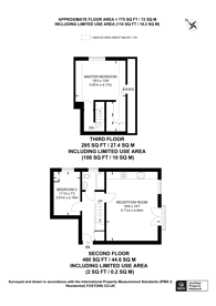 Large floorplan for Colvestone Crescent, Hackney, E8